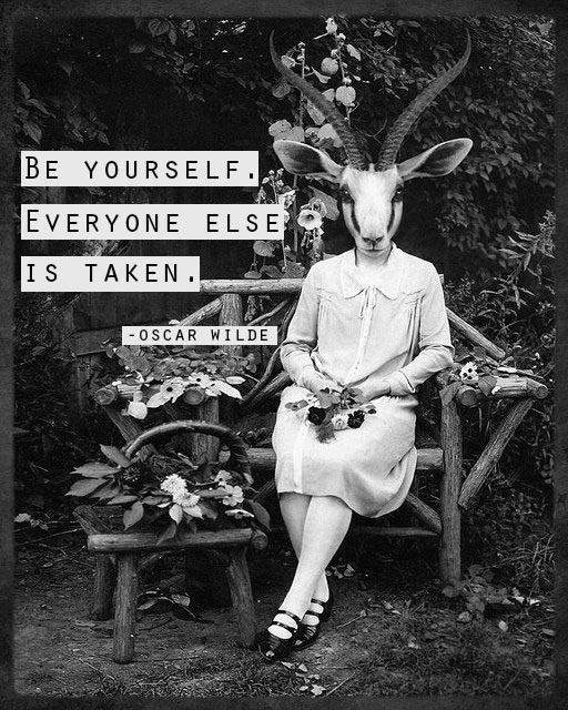 Oscar Wilde - Be yourself