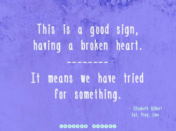 broken love quote