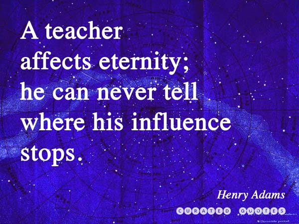 32 Thank You Quotes for Teachers - Curated Quotes