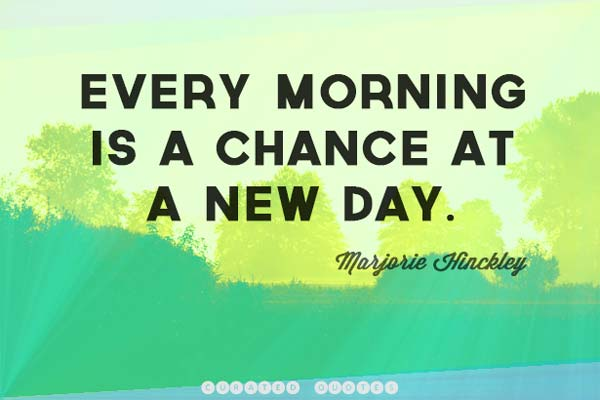 A New Day Quote