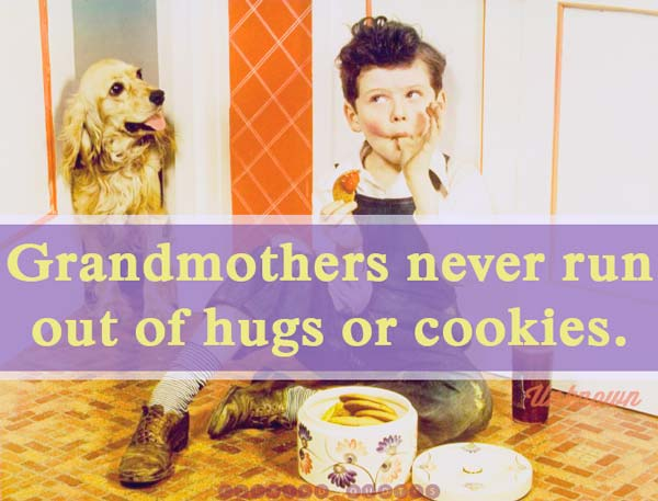 Grandmothers Cookies quote