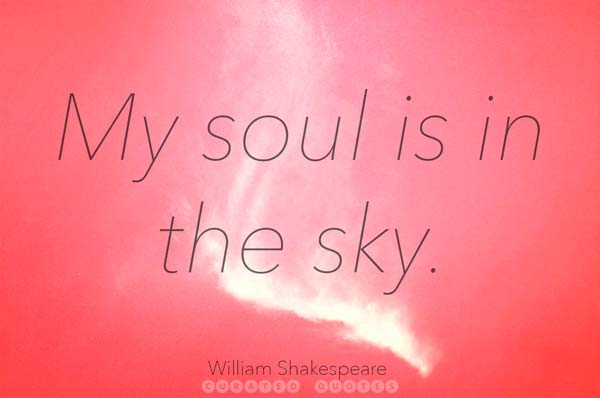 William Shakespeare Soul