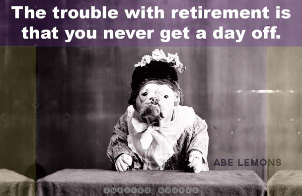 Retirement Trouble