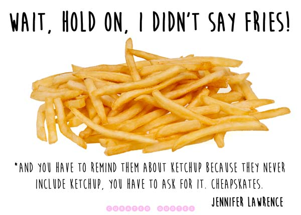 Jennifer Lawrence Fries