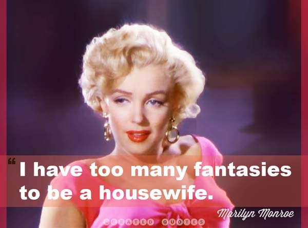 Marilyn Monroe Housewife