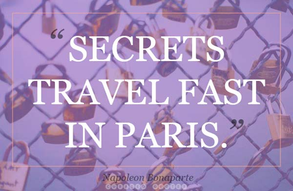 Secrets Travel Paris
