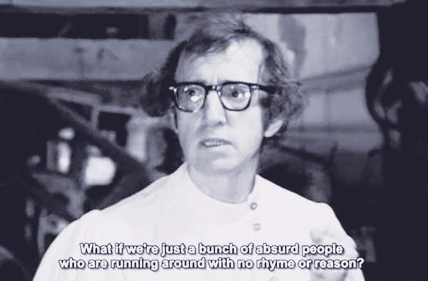Absurd People Woody Allen