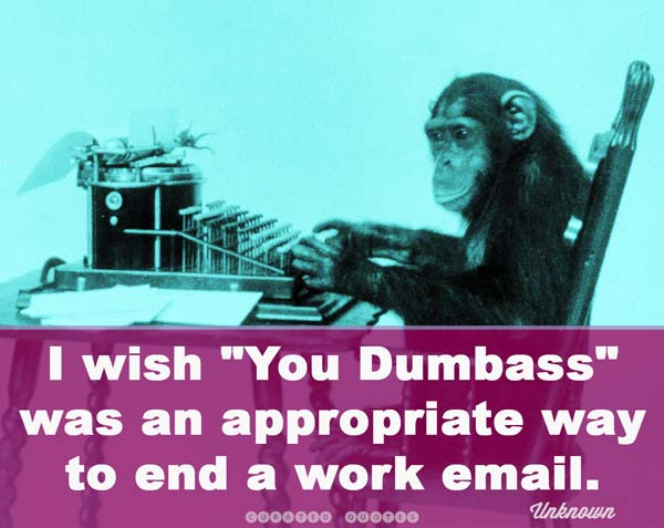 Funny Work Email