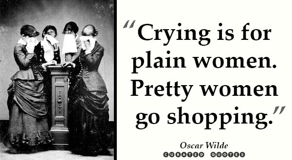 Pretty Women Shop Oscar Wilde