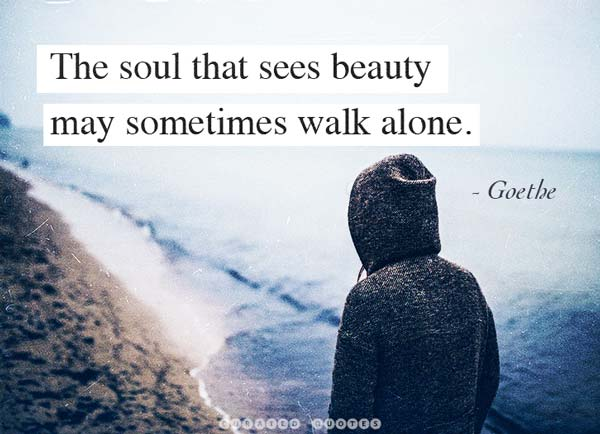 Sometimes Walk Alone