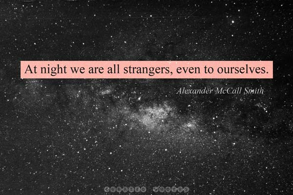 Strangers At Night
