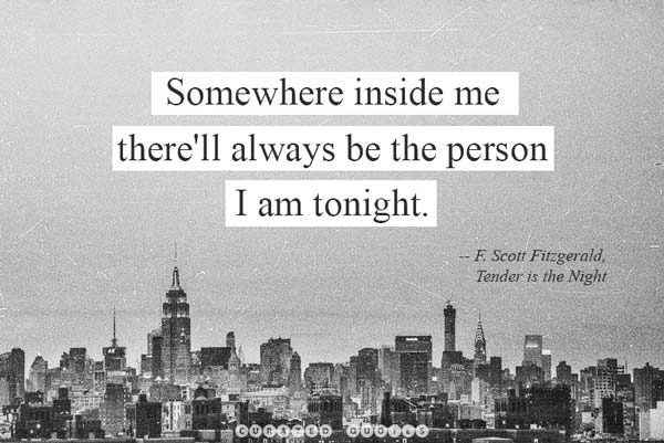 I'll Always Be I Am Tonight