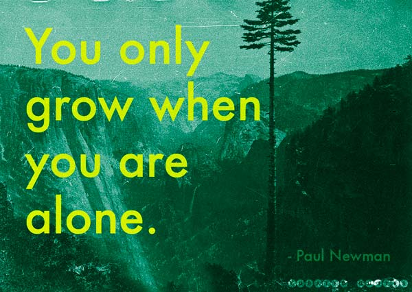 Grow Alone Solitude