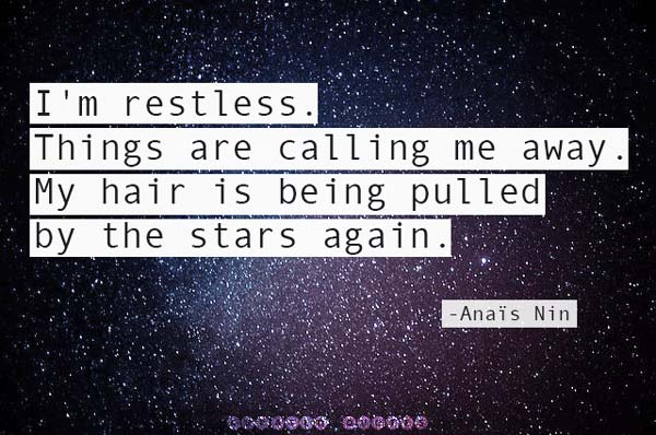The Stars Are Restless