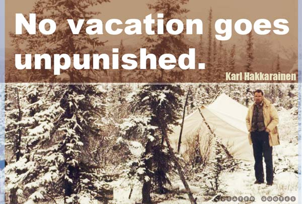 Vacation Punishment