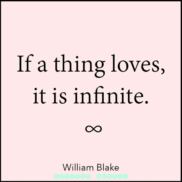 William Blake It Is Infinite